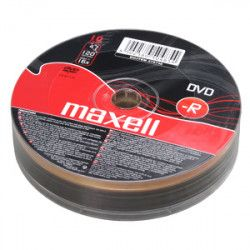 DVD-R MAXELL 4,7GB 16X 10ks/spindel