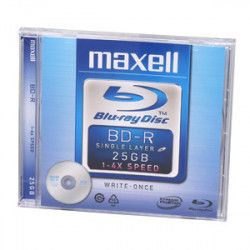 BD-R ( Blu-ray Disc ) MAXELL 25GB 4X  1xJewel Case